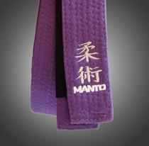 Manto Brazilian Jiu Jitsu Embroidered Belts